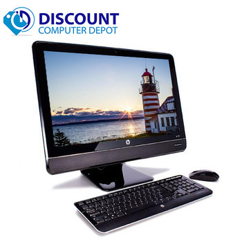 "HP 8200 23"" All-In-One Desktop Computer PC Windows 10 Core i5 PC 4GB 250GB"