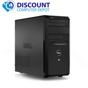 Dell Vostro 430 Desktop Computer Tower PC Core i5 3.1GHZ 4GB 500GB Windows 10