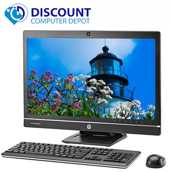 """Fast HP 8300 23"""" All-In-One LED Windows 10 Desktop Computer Core i5 PC 8GB 250GB"""