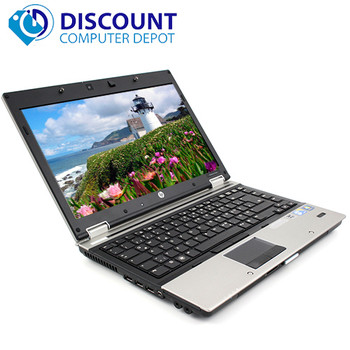 HP Laptop EliteBook Series Windows 10 i5-1st Gen 4GB RAM 250GB DVD WIFI Computer PC