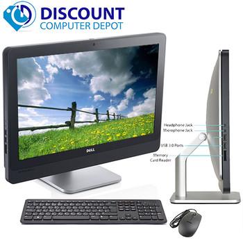 """Dell 9010 23"""" AIO Desktop Computer PC Quad i5 2.9GHz 8GB 128GB SSD Windows 10 Pro"""