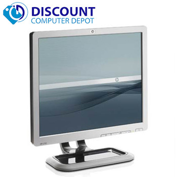 "HP 17"" Flat Panel Screen LCD Monitor with VGA Cable 3 year warranty"