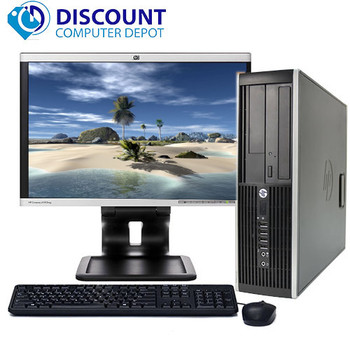 "HP Desktop Computer PC Core i3 3.1GHz 4GB 160GB DVD WiFi 17"" LCD Windows 10"