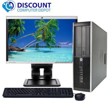 "HP Pro Desktop Computer Tower 2.8GHz 4GB 160GB 17""LCD Windows 10 Pro Wifi DVD-RW"