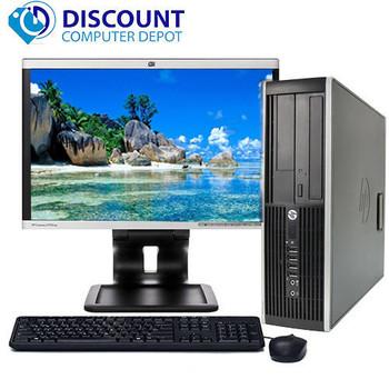 "HP Pro Desktop Computer Tower PC 2.8GHz 4GB 160GB 17""LCD Windows 10 Wifi DVD-RW"