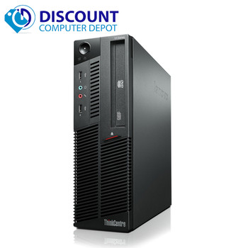 Fast Lenovo M82 Windows 10  Desktop Computer Intel Core i3 PC 3.1GHz 4GB 250GB