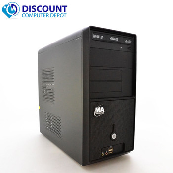 Fast Custom Destop Computer PC Dual Core 2.13GHz 4GB 160GB DVD Windows 10
