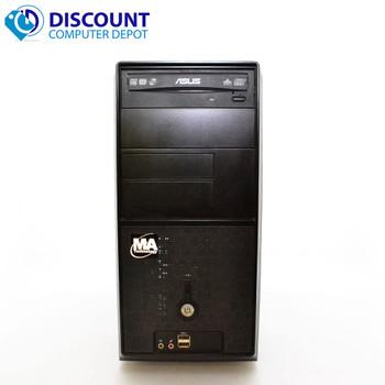 Fast Custom Destop Computer PC Dual Core 2.13GHz 4GB 160GB DVD Windows 10