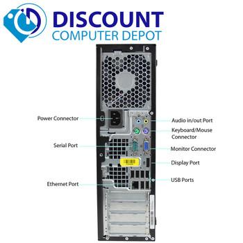 HP Desktop Computer Elite 8300 Intel Core i5 3rd Gen 3570 (3.40 GHz) 16 GB DDR3