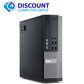 Fast Dell Desktop Computer PC Core i5 3.1Ghz 16GB Huge 1TB HDD Windows 10 WiFi