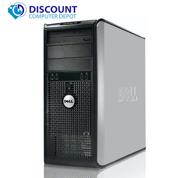 Dell Windows 10 Desktop Computer 1TB HDD | 8GB RAM | Wifi | C2D Processor