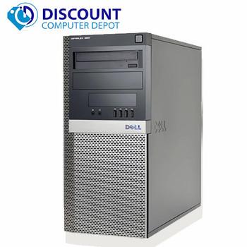 Dell 960 Windows 10 Desktop Computer PC Tower Core 2 Duo  8GB RAM 500GB Wifi