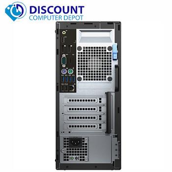 Dell Optiplex 5040 Desktop Computer Tower Quad i5 3.2GHz 8GB 1TB Windows 10 pro