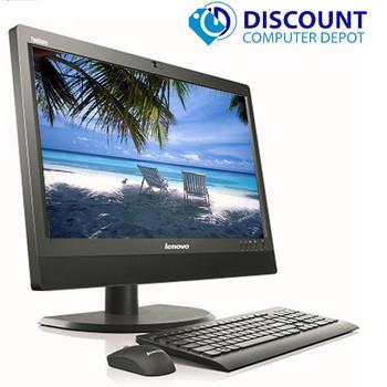 """Lenovo M90z 23"""" HD All-in-One Desktop Computer Core i5 4GB 250GB Windows 10 Pro"""