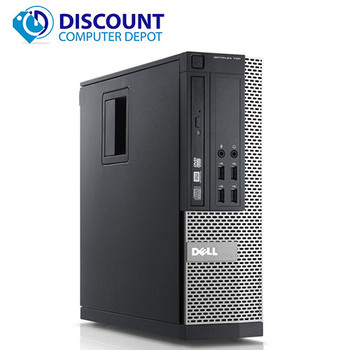 "Dell Optiplex Desktop Computer Quad Core i5 8GB 500GB Windows 10 Pro w/19"" LCD"