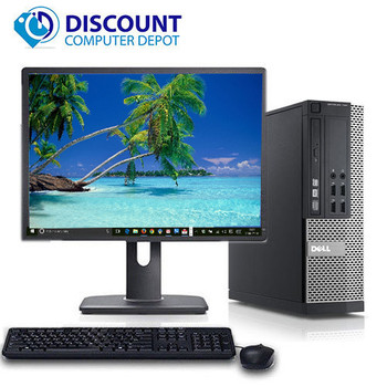 "Dell Optiplex Desktop Computer PC Quad Core i5 4GB 500GB Windows 10 w/19"" LCD"