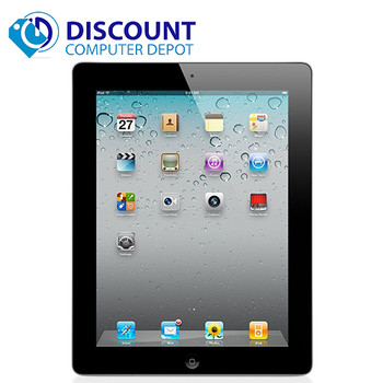 "Apple Ipad 2 (2nd Generation) 9.7"" Screen 64GB Wifi  Black with Charger"