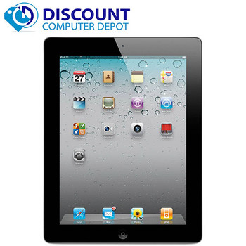 "Apple iPad 3 64GB 9.7"" HD Touchscreen Tablet  WiFi Bluetooth Excellent Condition"