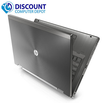 HP Elite 8460w Laptop Computer Core i7 2nd Gen 8GB 500GB Windows 10 Pro DVD-RW