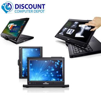Fast Dell Latitude XT2 2 in 1 Laptop Tablet PC Core 2 Duo Windows 10 4GB 250GB