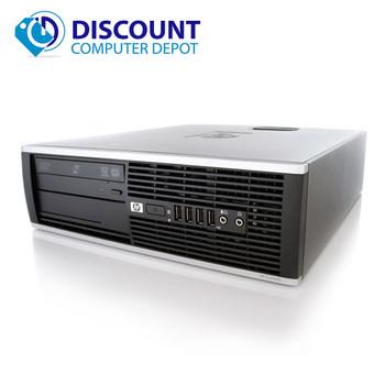 Fast HP Elite Pro Desktop Computer PC Core i3 4GB 1TB Windows 10 Home WiFi