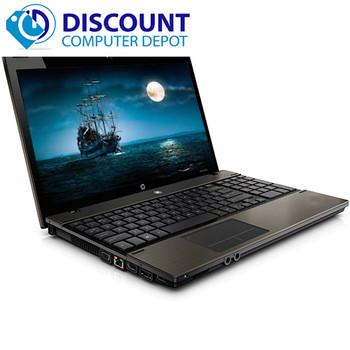 Fast HP Probook 4520s Laptop Intel Core I3 2.53GHz 4GB 320GB Win 10 Home WiFi