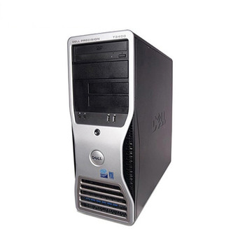 Fast Dell Precision T3400 Desktop Computer C2D 2.4GHz 8GB 750GB Win10 Pro WiFi