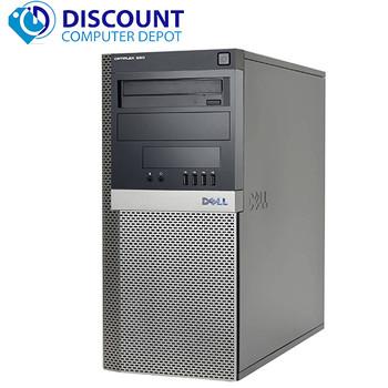 "Dell Optiplex 9020 Computer Tower i5 3.2GHz 8GB 500GB Win 10 Pro Dual 22"" LCD'S"