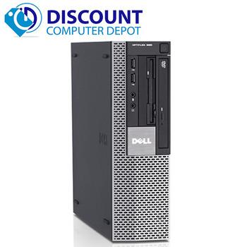 Dell Optiplex 960 Windows 10 Home 3.0GHz Core 2 Duo Desktop Computer 4GB RAM 250GB HD