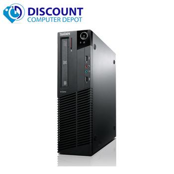 "Lenovo M82 Windows 10 Home Desktop Computer PC Intel Core i5-3570 3.2GHz 4GB 160GB with a 17"" LCD"