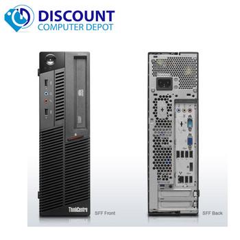 Clearance! Lenovo M81 Desktop Computer Intel i3-2100 3.2GHz 4GB 250GB Windows 10 Home WiFi
