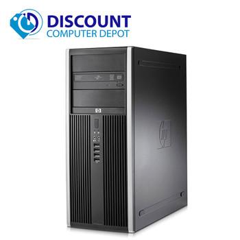 Clearance! Fast HP Elite Desktop Computer Tower PC Intel Core i3 4GB 320GB Windows 10