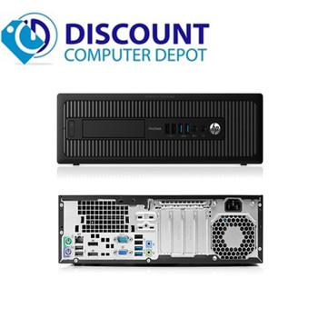 Clearance! HP ProDesk G1 Windows 10 Pro Desktop Computer PC Core i3 3.2GHz 8GB 1TB
