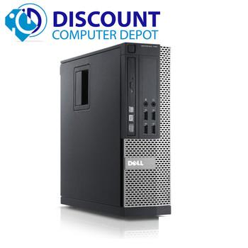 """Dell Optiplex 990 Windows 10 Pro Desktop PC i5 3.3 8GB 500GB w/dual 19"""" LCD"""