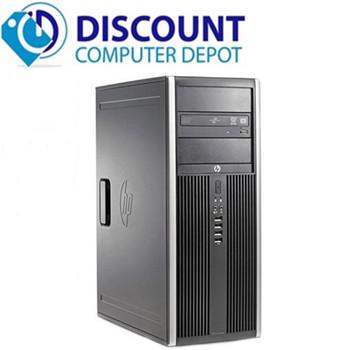 Fast HP 6200 Windows 10 Pro Desktop Computer Tower PC Intel Core i5 8GB 500GB