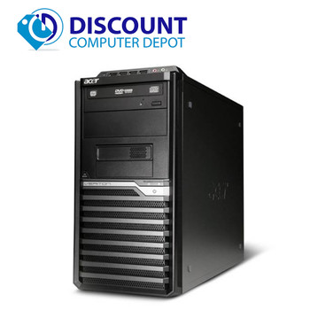 Fast Acer Veriton Desktop Computer PC Quad Core i7 3.4Ghz 4GB 320GB Windows 10
