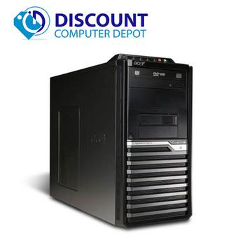 Fast Acer Veriton Desktop Computer PC Quad Core i7 3.4Ghz 8GB 320GB Windows 10