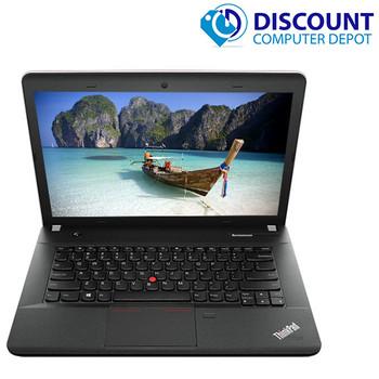 """Fast Lenovo E431 14.1"""" Laptop Computer Windows 10 PC Core i3 2.5GHz CPU 8GB 500GB"""