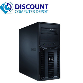 Dell Poweredge T110 II Computer Server Tower PC 8GB 1TB Core i3 Windows 10 Pro with Keyboard & Mouse