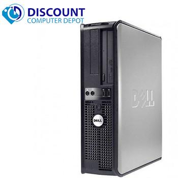 """Fast Dell Optiplex Desktop Computer PC Core 2 Duo 2.13GHz 4GB 320GB DVD Wifi 19"""" LCD Windows 10"""