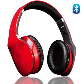Side Swipe Wireless Touch Control HeadPhones with Built in Microphone