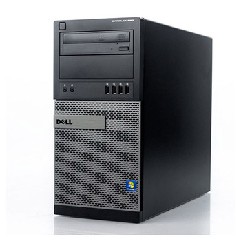 Dell Core i7 Optiplex Windows 10 Pro Computer Tower PC 16GB 2TB with Dual Out Video Card