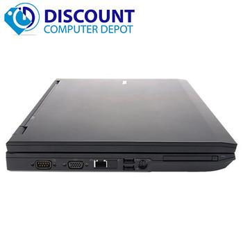 """Dell E-Series 15.4"""" Laptop PC Core 2 Duo Processor 4GB 250GB Windows 10 Home Premium"""