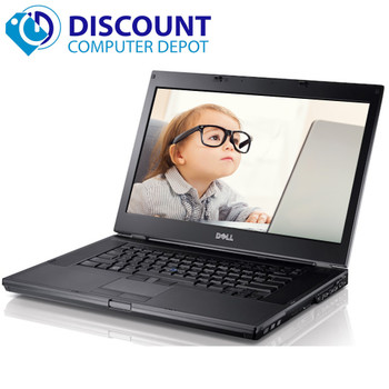 Dell Latitude E6510 Laptop PC Core i5 2.4GHz 4GB 320GB Hard Drive DVDRW Windows 10 Pro