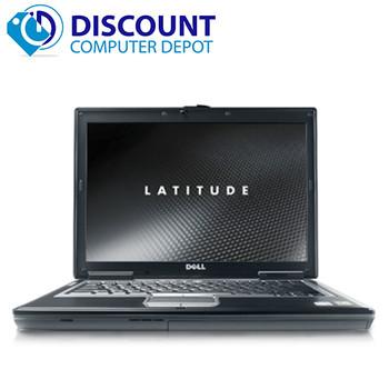 Dell Laptop D-Series Latitude Notebook Windows 10 Dual Core 4GB RAM DVD WIFI PC HD