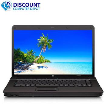 HP Compaq 610 Laptop Computer PC 4GB 160GB Core 2 Duo Win-10 Home