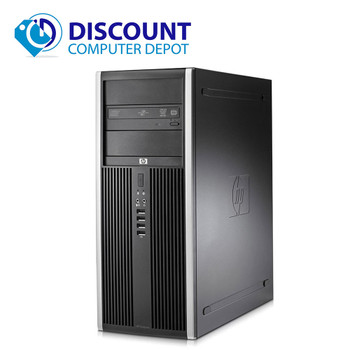 Clearance! Fast HP Elite Computer Tower PC Intel Core i3 4GB 320GB Windows 10