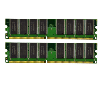 Crucial 4GB 2x2GB DDR2 PC2-6400U 800MHz Low Density Desktop Ram Memory