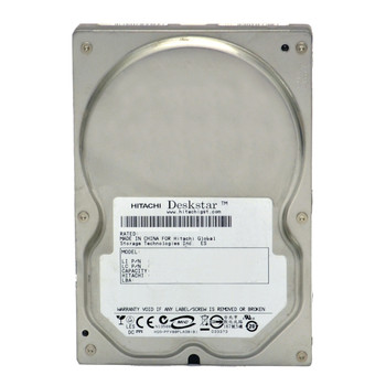 "Hitachi Deskstar 80GB Hard Drive SATA 3.5"" 7200RPM HDD Desktop"