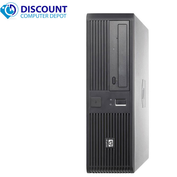 HP RP 5700 Desktop Computer PC Windows 10 PC Intel C2D 2.6GHz 4GB 160GB Wifi